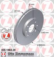 ZIMMERMANN - Тормозной диск передний VAUXHALL ASTRA 1.8 Бензин/автогаз (LPG) 1998 - 2005 (430148220)