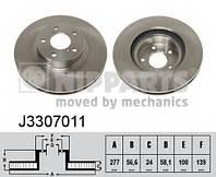 NIPPARTS - Тормозной диск передний SUBARU IMPREZA 1.6 бензин 1996 - 2000 (j3307011)