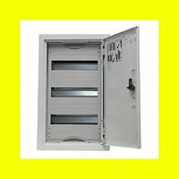 Распределительный навесной металлический шкаф ABB AT31 36M IP43 324х524х140 3 ряда
