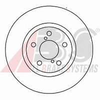 Тормозной диск передний SUBARU IMPREZA 2.5 бензин 2001 - 2005 (16632)