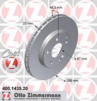 Тормозной диск передний MERCEDES-BENZ C-CLASS C бензин 1993 - 2008 (400143520)