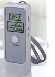Бытовой Alcotester (алкометр) с LCD часами