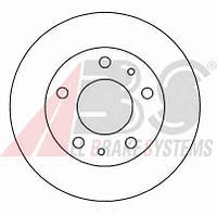 ABS - Тормозной диск передний FIAT DUCATO 100 Дизель 2006 -  (16292)