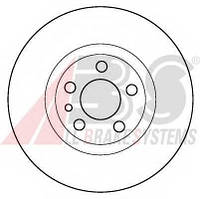 ABS - Тормозной диск передний Fiat Scudo (Фиат Скудо) 1.6 бензин 1996 - 2006 (16288)