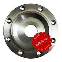 Алюминиевый большой фланец для отрезных кругов, дисков, сухорезов, пил Ф230 мм. по камню.