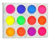 Набор цветных пигментов, 12 шт.