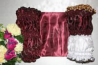 Эконом-обивка наружная двухцветная на гроб из атласа