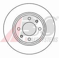 ABS - Тормозной диск передний Citroen Xsara (Ксара) 1.8 Бензин/автогаз (LPG) 1998 - 2000 (15841)