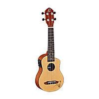Ortega RU5CE-SO электроакустическое укулеле- сопрано