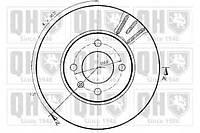 Quinton Hazell - Тормозной диск передний Seat Toledo (Сеат Толедо) 2.0 бензин 1991 - 1999 (bdc3605)