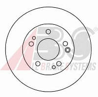 ABS - Тормозной диск передний MERCEDES-BENZ COUPE 230 бензин 1987 - 1992 (15790)