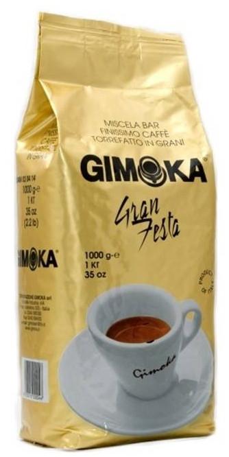 Кава Gimoka Gran Festa в зернах оригінал Італія 1 кг