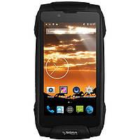 Пылевлагозащищенный смартфон Sigma mobile Х-treme PQ25 black, фото 1
