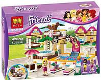 Конструктор Bela 10160 Friends Городской бассейн (аналог LEGO Friends 41008)