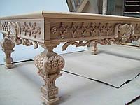Изготовление эксклюзивной резной мебели ручной работы