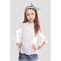 Батистовая рубашка на девочку Люси