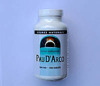Pau D'Arco-500 мг-250 таблеток