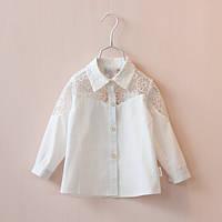 Блуза для девочки белая
