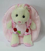 Рюкзак-игрушка W02-3381 мягкий, кролик 21*26 см