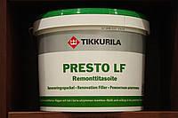 Водоразбавляемая, готовая к применению легкая шпатлевка Престо ЛФ Тиккурила, 10л