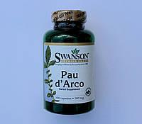 Pau D'Arco-500 мг-100 капсул