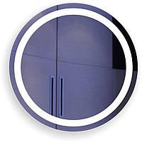 """Зеркало с подсветкой в ванную """"Контур """""""