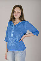 Блузка из натуральных тканей