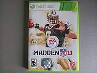 Игра xbox 360 NFL Madden 11 регион NTSC