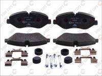 Колодки тормозные передние (BREMBO) на Iveco Daily III Daily IV 2.3D-3.0D 2000--2011 LPR  LPR05P1297B