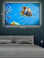 Светящаяся картина (ночник) 29х45см Аквариум