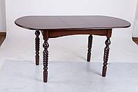 Стол обеденный раскладной Бруно темный орех, фото 1