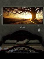 Светящаяся картина (ночник) 29х69см Большое Дерево