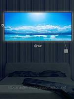 Светящаяся картина (ночник) 29х69см Горизонт