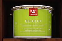 Глянцевая краска для окраски бетонных и деревянных полов Бетолюкс Тиккурила, 9л