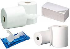 Салфетки спиртовые, влажные. Платочки бумажные.Туалетная бумага. Бумажные полотенца.