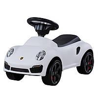 Толокар Porsche U-057W ocie лицензия, белый, фото 1