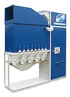 Первичная очистка и калибровка зерна -зерновой сепаратор САД-15 (воздушная очистка зерна)