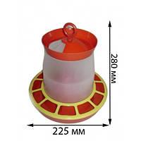 Кормушка бункерная автоматическая для домашней птицы, 5 л (упаковка 6 шт)