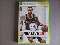Игра xbox360 NBA Live 09 регион NTSC