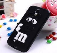 Чехол M&M's для Samsung Galaxy S4 Mini I9190 черный, фото 1