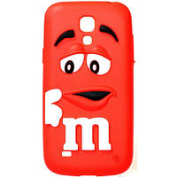 Чехол M&M's для Samsung Galaxy S4 Mini I9190 красный