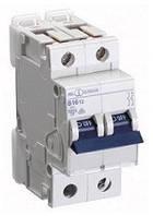 Автоматический выключатель автомат 10 A ампер 10kA Германия двухфазный двухполюсный C С характер цена купить, фото 1