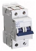 Автоматический выключатель автомат 16 A ампер 10kA Германия двухфазный двухполюсный C С характер цена купить