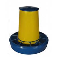 Кормушка бункерная автоматическая для домашней птицы, 3 кг (упаковка 5 шт)