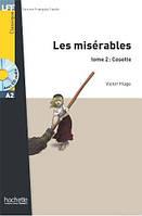 A2. Les Miserables (Cosette), t. 2 + CD audio (Hugo), фото 1