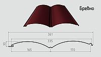 Блок - хаус ( бревно ) Сайдинг из стали 0,4мм с полимерным покрытием