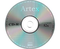 CD-R диски для аудіо Artex Bulk/50