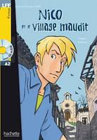 A2. Nico et le village maudit + CD audio (Guilloux), фото 1