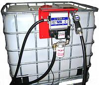 Мини заправка для дизельного топлива, на базе Еврокуба на 1000 литров