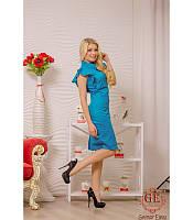 Женское платье Ангел- голубой р S и L